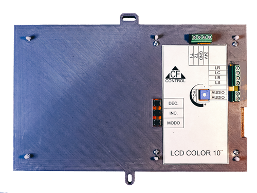 Indicador LCD Color 7""